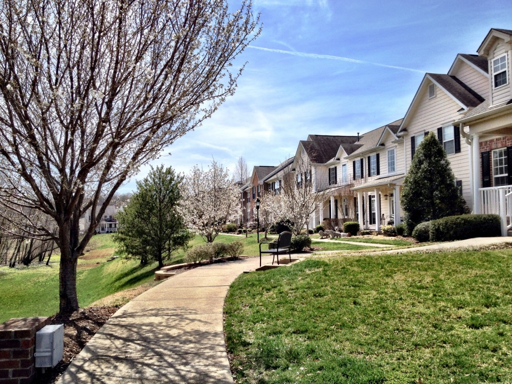 Lenox Village townhomes